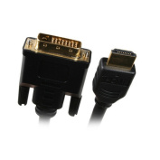 Nippon Labs HDMIDVI-6BK 22m HDMI to DVI Cable with Gold-Plated
