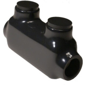 Morris Products 2/0-14 Insulated In - Line Splice in Black