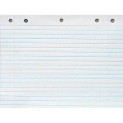 School Smart Cursive Ruled Long Way Notebook Paper with Margin, 20cm x 27cm , White, 500 Sheets