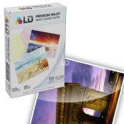 LD © Heavy Coated Matte Inkjet Paper (8.5X11) 100 pack - High Resolution