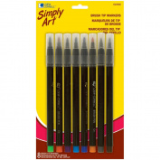 Loew-Cornell Simply Art Brush Tip Markers