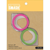 K & CompanySmash Label Maker Refill for Scrapbook, Green and Pink