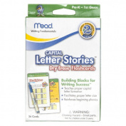 Mead Capital Letter Dry Erase Flashcards