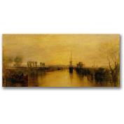 "Trademark Fine Art ""Chichester Canal, 4650cm Canvas Wall Art by Joseph Turner"
