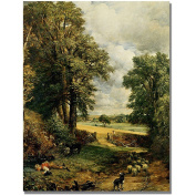 "Trademark Fine Art ""The Cornfield"" Canvas Wall Art by John Constable"