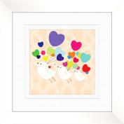Love Birds Wall Decor, Framed Art