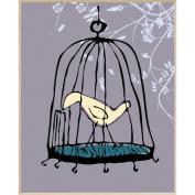 Bird Cage Wall Decor, Plaque