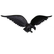 Montague Metal WE-24-SB 60cm Black Wall Eagle