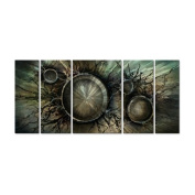 Visions Afar Metal Wall Art - 56W x 23.5H in.