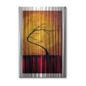 Wild Winds Metal Wall Art - 16W x 23.5H in.