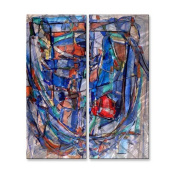 Rib-Cage 44 Metal Wall Art - 21W x 23.5H in.