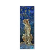 Cheetah Metal Wall Art - 12W x 35H in.
