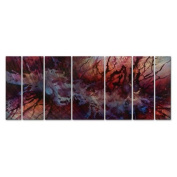The Ache of Time Metal Wall Art - 66W x 23.5H in.