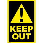 Trends International Keep Out Poster, 60cm x 90cm