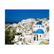 Santorini, Oia, Cyclades Islands, Greece Poster Print