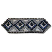 Patch Magic Blue Log Cabin Table Runner