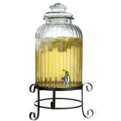 Style SetterGlass Beverage Dispenser with Stand