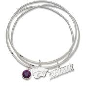 LogoArt NCAA Triple Bangle Bracelet