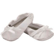 Fibre Craft Springfield Collection Slippers for Doll, White