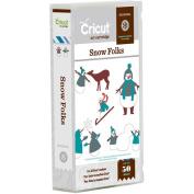 Provo Craft Cricut Mini Seasonal Shape Cartridge, Snow Folks
