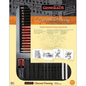 General Pencil Charcoal Drawing Set