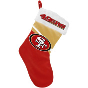 Forever Collectibles NFL Swoop Logo Stocking, San Francisco 49ers