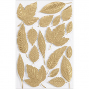Martha Stewart Crafts Decorative Stickers, Elegant Nature Leaf