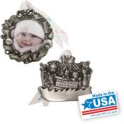 Gloria Duchin 2pc Baby's First Ornament Gift Set