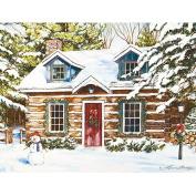 Lang Log Cabin Holiday Boxed Christmas Cards