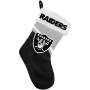 Forever Collectibles NFL Swoop Logo Stocking, Oakland Raiders