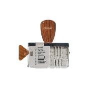 American Crafts Roller Date Decorative Stamp, Studio Calico