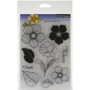Penny Black Clear Stamps 13cm x 19cm Sheet, Petal Party