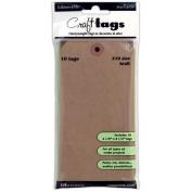 Ranger Inkssentials Kraft Craft Tags, 10cm x 22cm , 10/Pkg