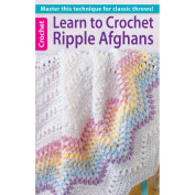 Leisure Arts NOM162372 Learn To Crochet Ripple Afghans