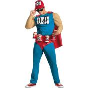 Simpsons Duffman Muscle Adult Halloween Costume
