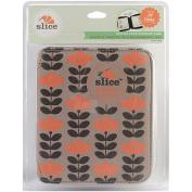 Slice Design Card Storage Case, Tangerine