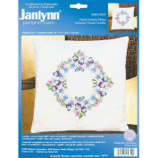 Floral Fantasy Candlewicking Embroidery Kit-36cm X36cm