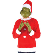 Dr. Seuss Grinch Adult Halloween Costume - One Size