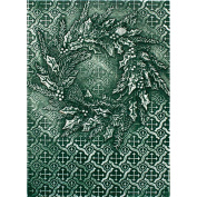 Spellbinders M-Bossabilities 3D Embossing Folder, Rustic Wreath