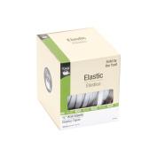 Dritz Knit Elastic, 0.6cm x 65 yds, White