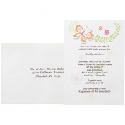 Wilton Baby Bugs Invitation Kit, Makes 12
