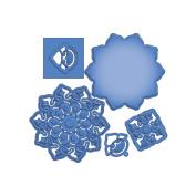 Spellbinders S5-140 Shapeabilities Triumphant Blossom Cut Fold and Tuck Die Templates