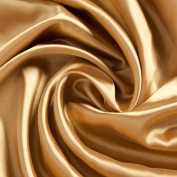 Satin Fabric, Gold