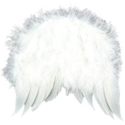 Midwest Design Feather Angel Wings, 15cm x 14cm , White