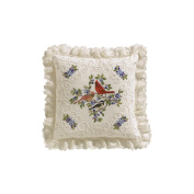 Janlynn Birds And Berries Candlewicking Embroidery Kit, 36cm x 36cm