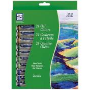 Oil Paint 12ml 24/pkg, Assorted Colours
