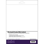 Spectrum Noir Ultra Smooth Premium Cardstock 22cm x 28cm 50/Pkg-White