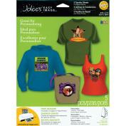 Jolee's Easy Image Transfer Sheets 22cm x 28cm 5/Pkg-For Dark Colour Fabric
