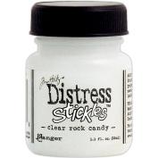 Tim Holtz Distress Stickles Glitter Glue 1.1 Fluid Ounce Clear Rock Candy