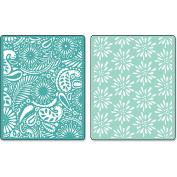 Sizzix Embossing Folders Dena Designs Textured Impressions Daisy Blast & Paisley Palooza